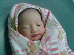 Kashafa Mulyono Putri, 9 Mei 2010